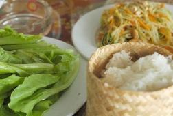 sticky rice luang prabang