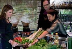 tamarind cooking course in lao