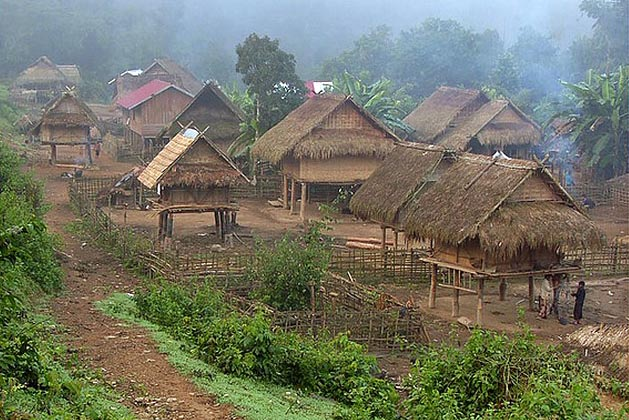 Kuang Si Falls and Local Villages Visit