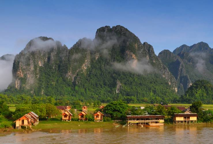 Vang Vieng Day Tour from Vientiane