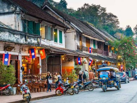 luang prabang old city