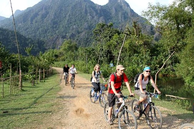 Luang Prabang Outskirt Biking Tour